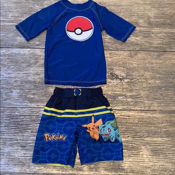0a48ffaf0e Pokemon Swim | Xs Little Boys Blue Pokmon Set | Poshmark